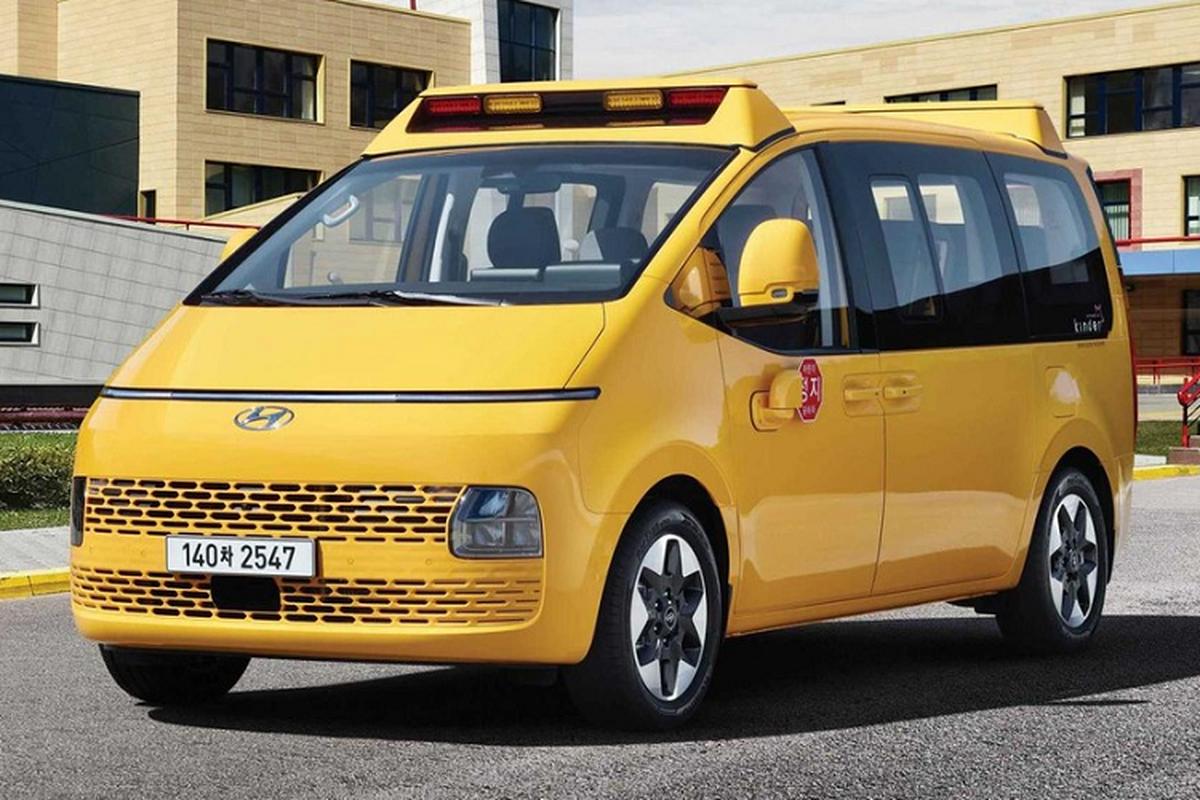 Hyundai Staria Kinder 2022 - xe buyt truong hoc tu 661 trieu dong