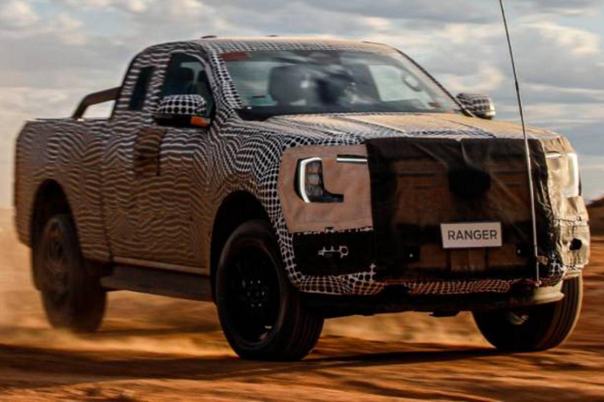 Ford Ranger 2022 moi dang chay thu o Thai Lan, sap ve Viet Nam-Hinh-5