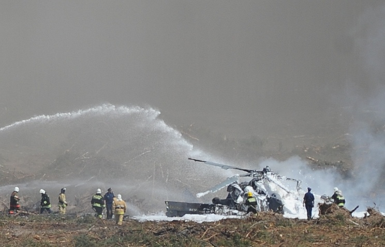 Hien truong truc thang tan cong Mi-28N Nga roi tan xac-Hinh-6