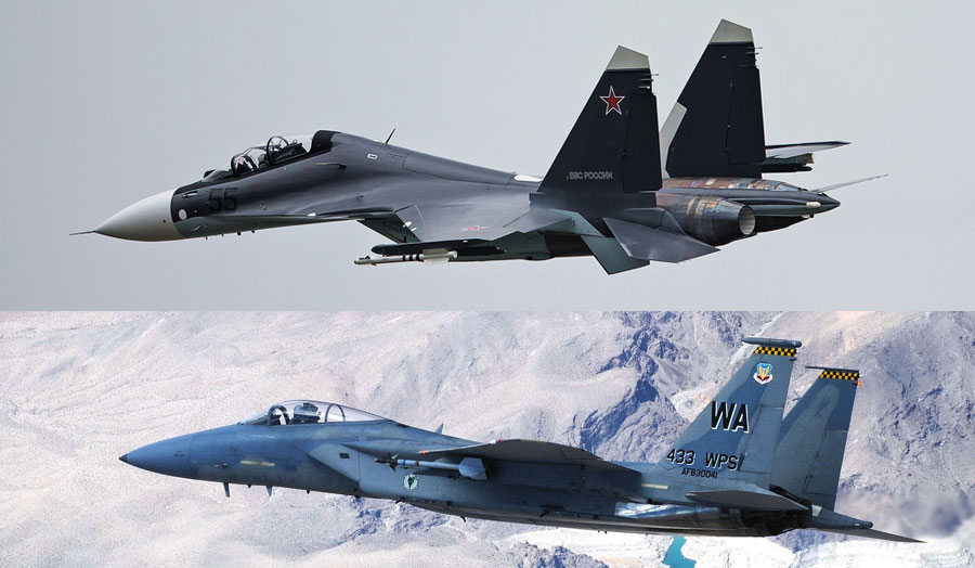 Chien dau co Su-30SM Nga va F-15C My: Ai hon ai?-Hinh-12
