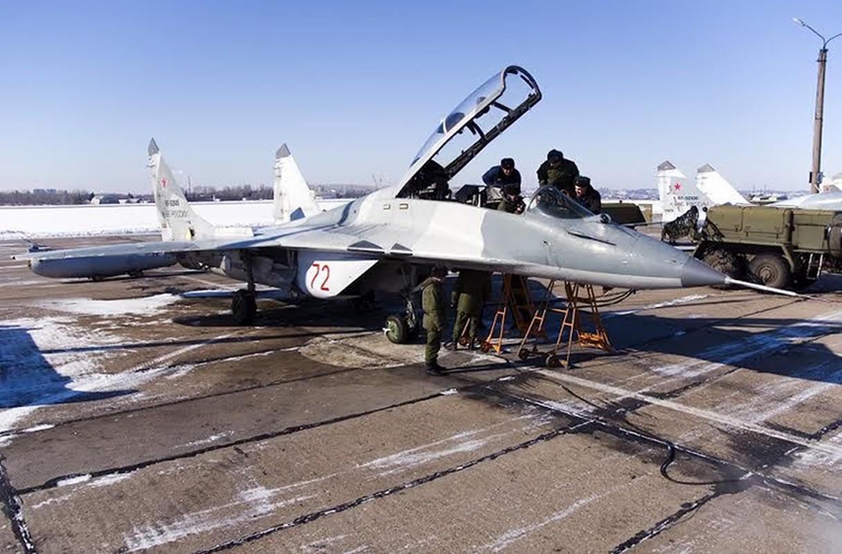 Chien dau co MiG-29SMT: