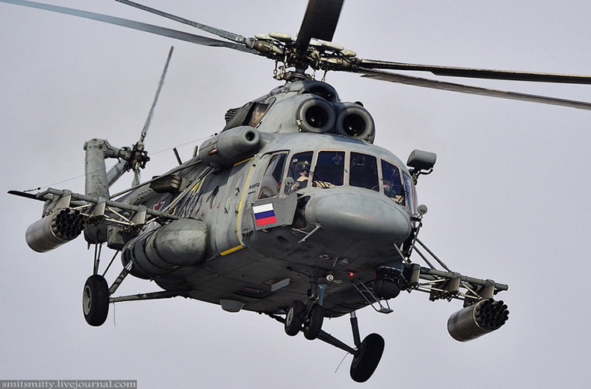 Dot nhap can cu truc thang Ka-52 nam sat Trung Quoc