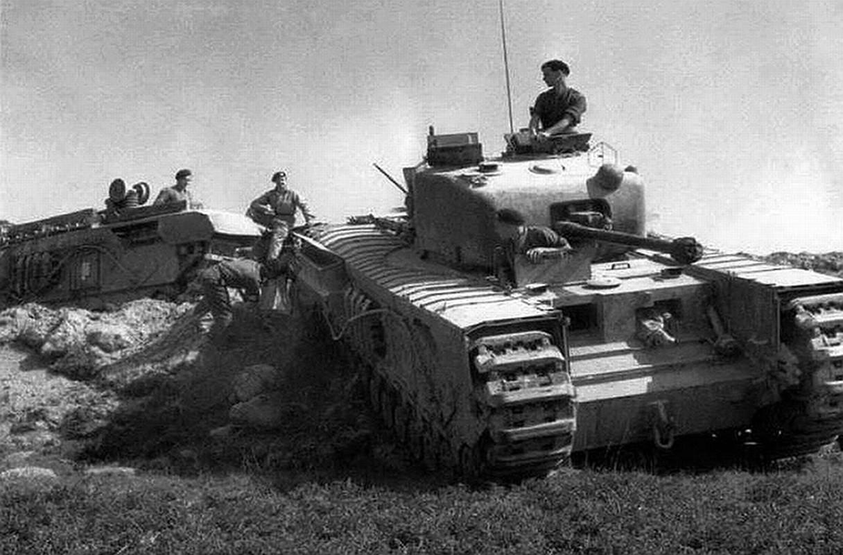 Loat thiet ke xe tang khong tuong giup Dong Minh mo man D-Day