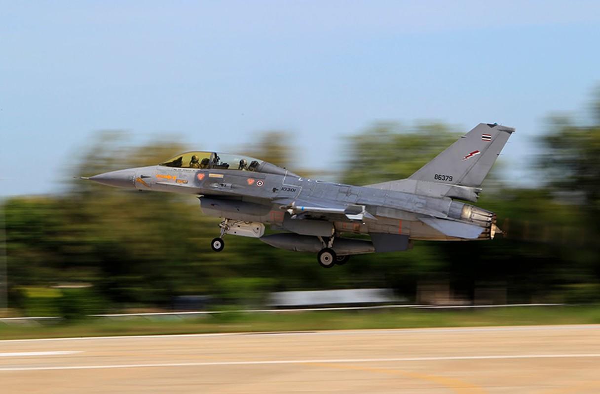 Lo dien tiem kich F-16 nang cap cua KQ Thai Lan-Hinh-4