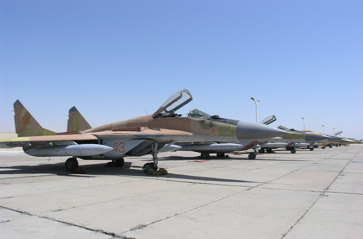 Lo suc manh tiem kich MiG-29 hien dai nhat trong lich su