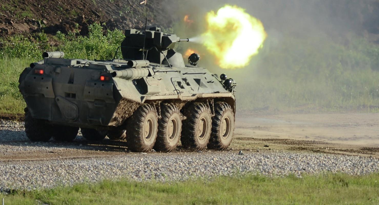 Hoang hon suc manh xe boc thep BTR-82 Nga lap phao 57mm-Hinh-5