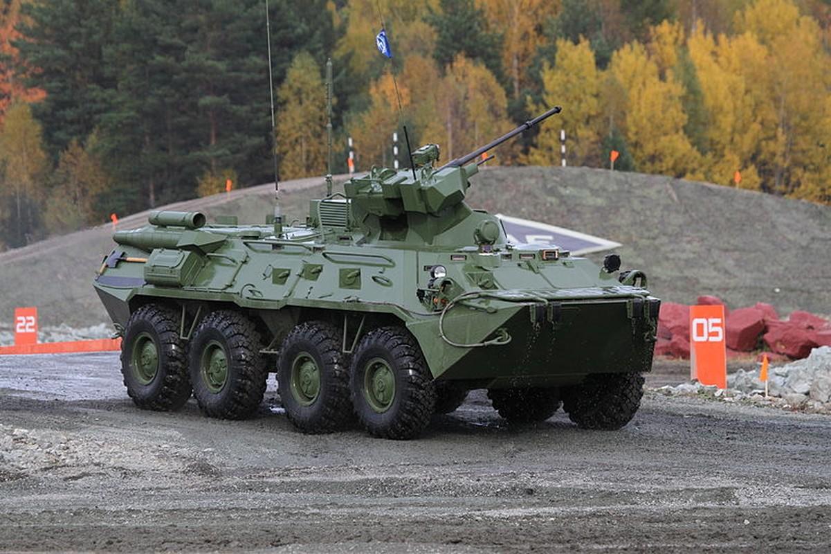 Hoang hon suc manh xe boc thep BTR-82 Nga lap phao 57mm-Hinh-7