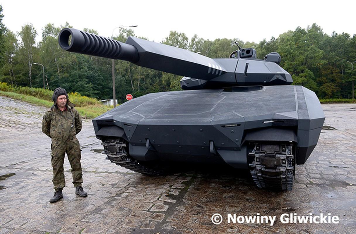 Danh bai xe tang Armata bang PL-01: Ba Lan