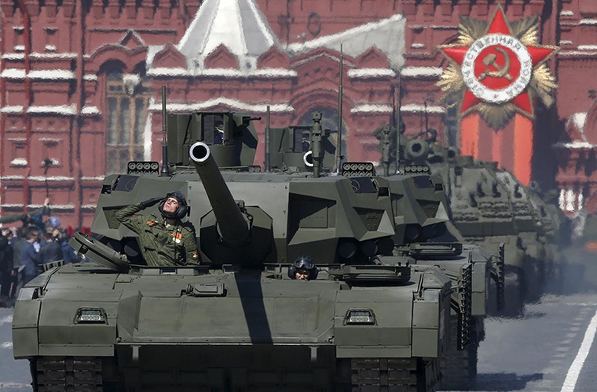 Xe tang T-14 Armata ha guc M1 Abrams de nhu choi game?