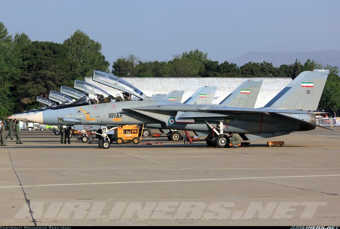 """At chu bai"" F-14 cua Khong quan Iran co con dan…de chien dau?-Hinh-2"