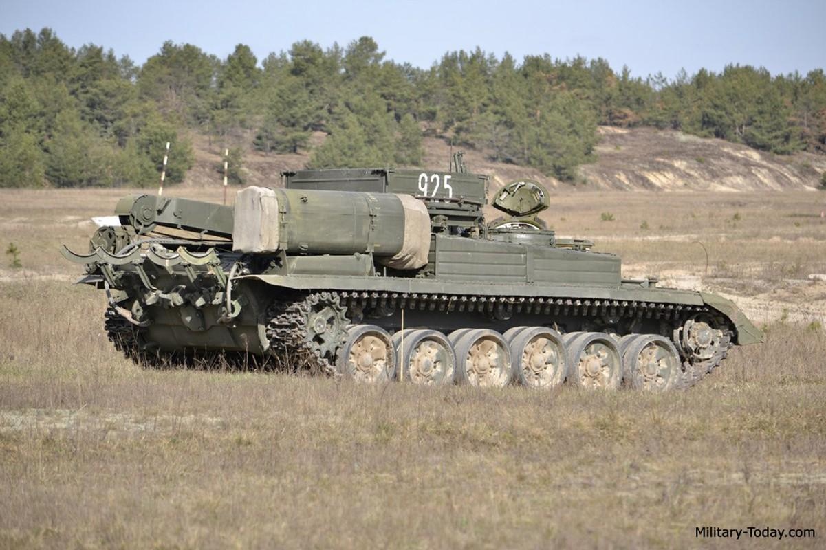 Lan xuat hien chop nhoang cua BREM-1 ben canh xe tang T-90 Viet Nam-Hinh-10