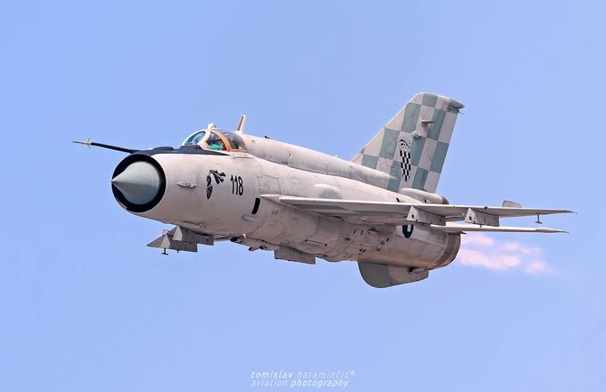 Viet Nam da bo tu lau, gio Croatia moi chiu thay tiem kich MiG-21