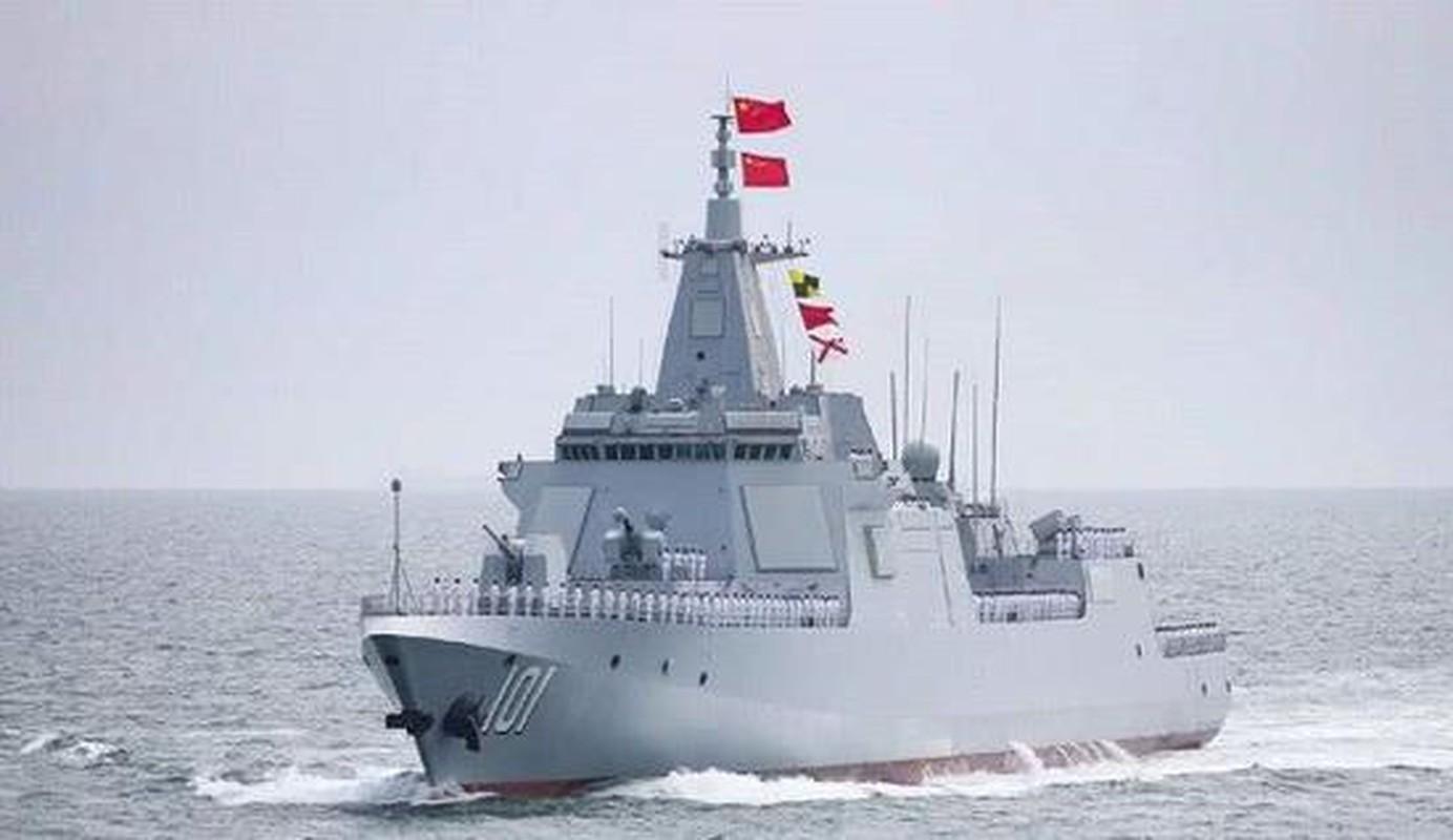 Trung Quoc ha thuy them khu truc ham Type 055: Manh den muc nao?
