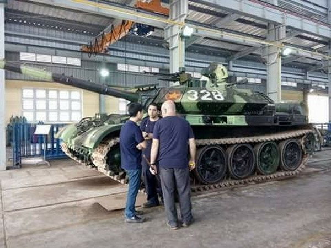 Xe tang T-54M Viet Nam: Ban nang cap uu viet, suc manh tiem can T-72-Hinh-3