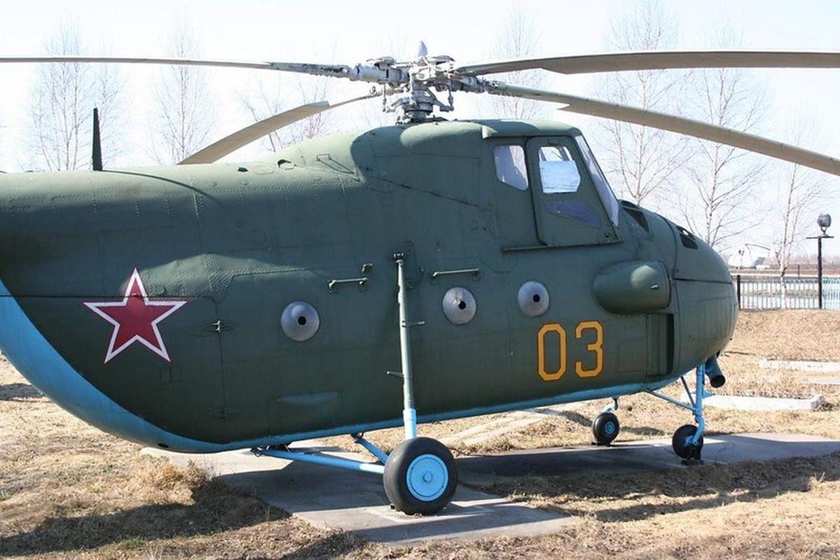 Truc thang Mi-4 Lien Xo va chiec chuyen co hang A tung phuc vu Bac Ho