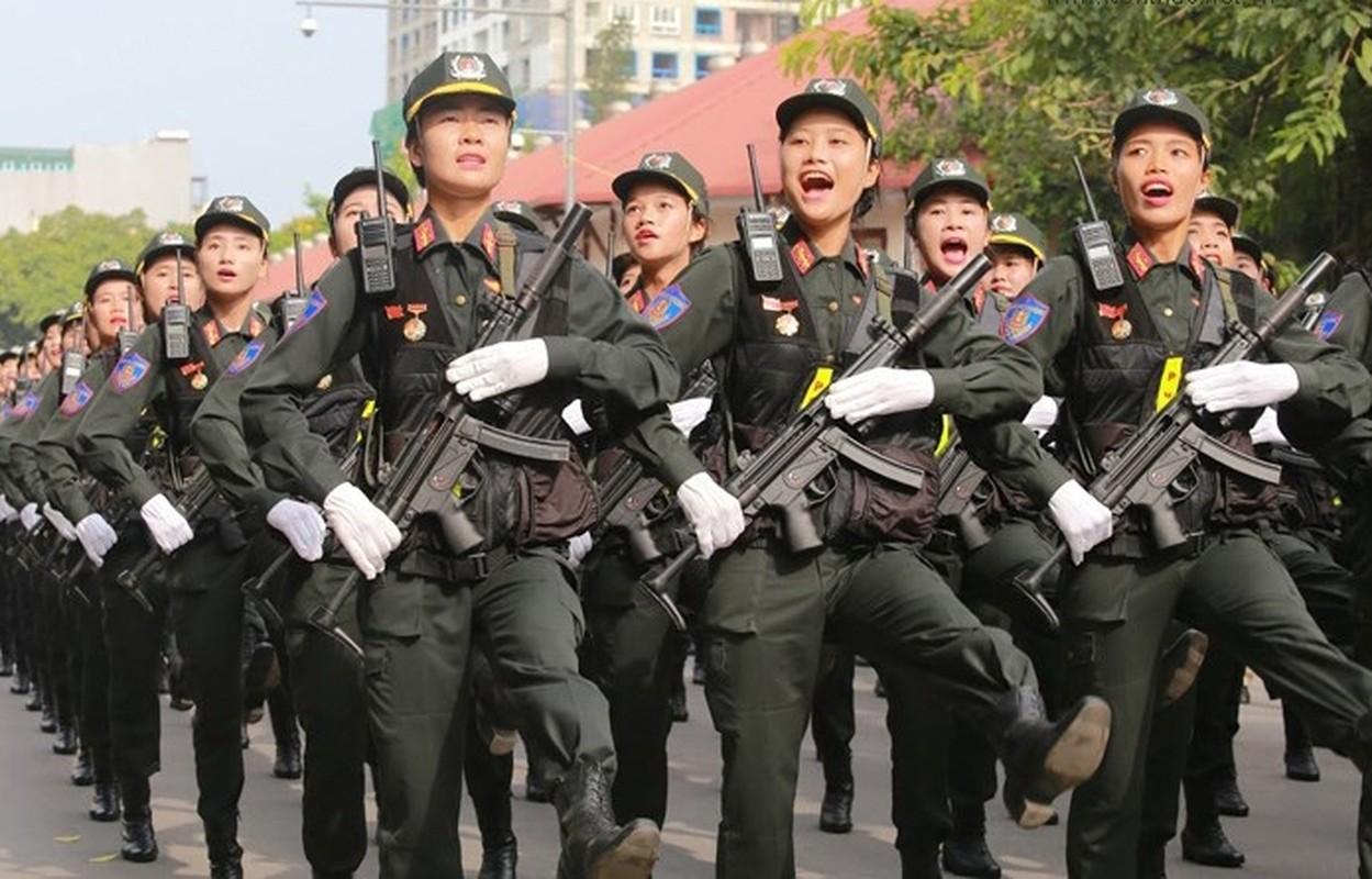 Canh sat co dong ky binh Viet Nam duoc trang bi vu khi gi?-Hinh-7