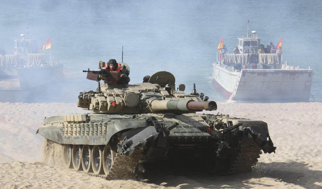 Nong: An Do keo dan tang T-90 len bien gioi... Trung Quoc coi chung-Hinh-5