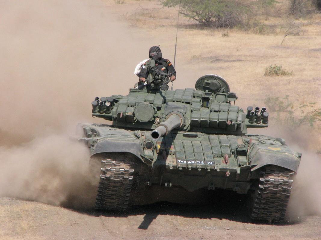 Nong: An Do keo dan tang T-90 len bien gioi... Trung Quoc coi chung-Hinh-6