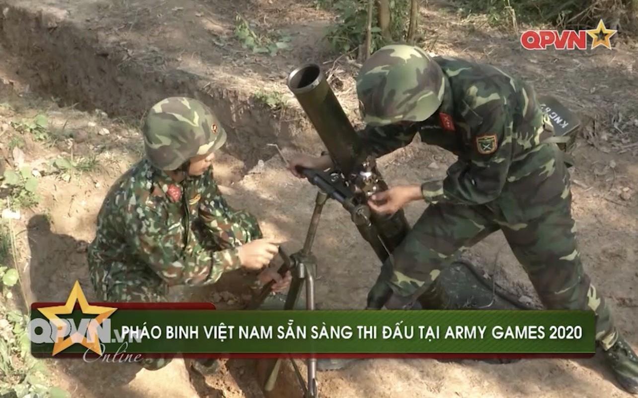 Phao binh Viet Nam huan luyen bang coi 100mm, cho toa sang o ARMY GAMES-Hinh-2