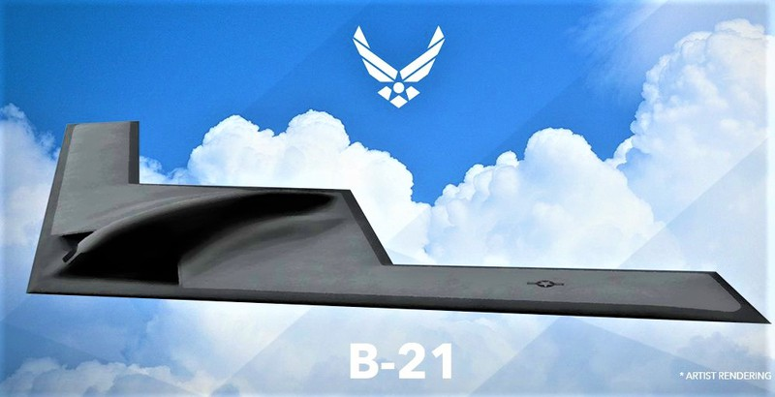 My dung B-21 Raider tang hinh de kiem che Trung Quoc du... chua bay thu