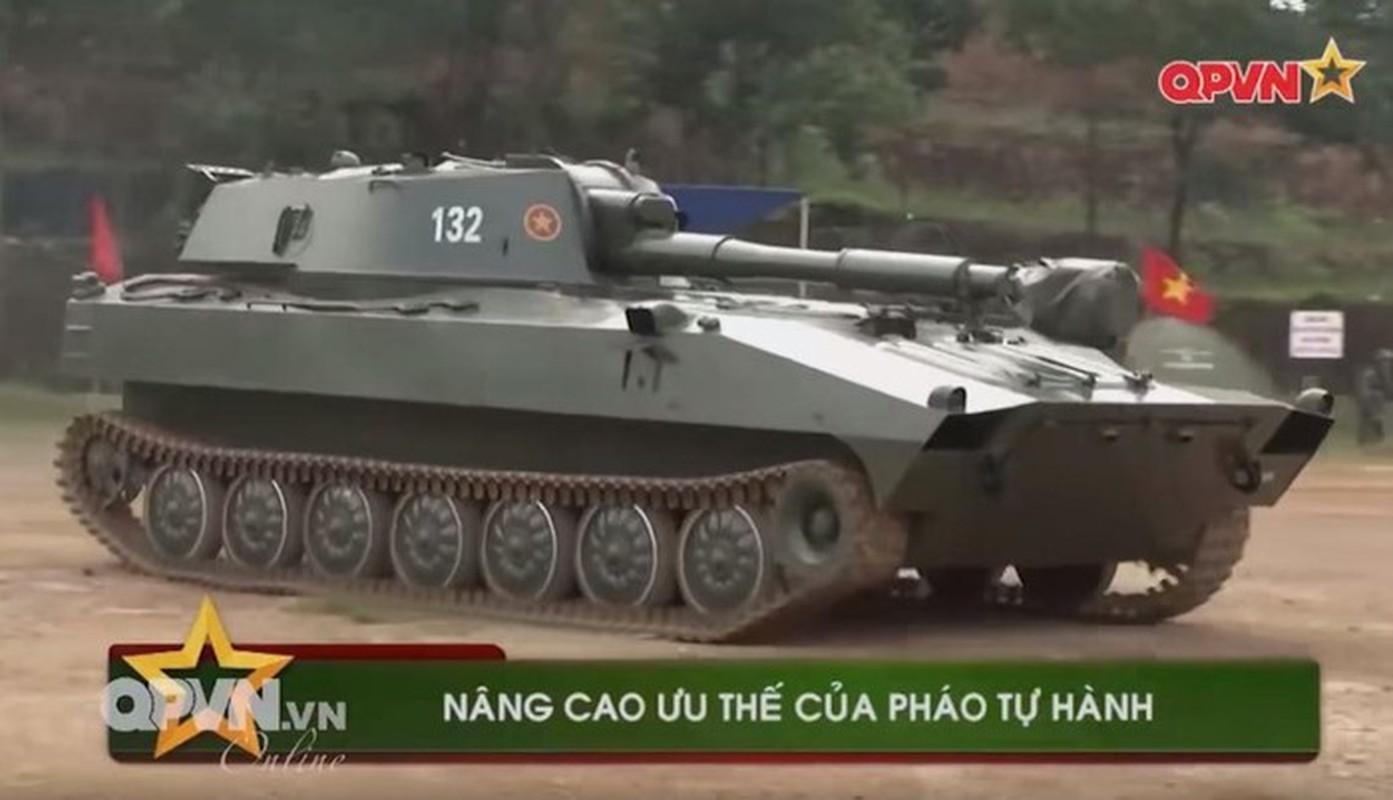 Phao tu hanh banh lop PTH85-VN18 Viet Nam tu che tao lan dau lo dien-Hinh-10