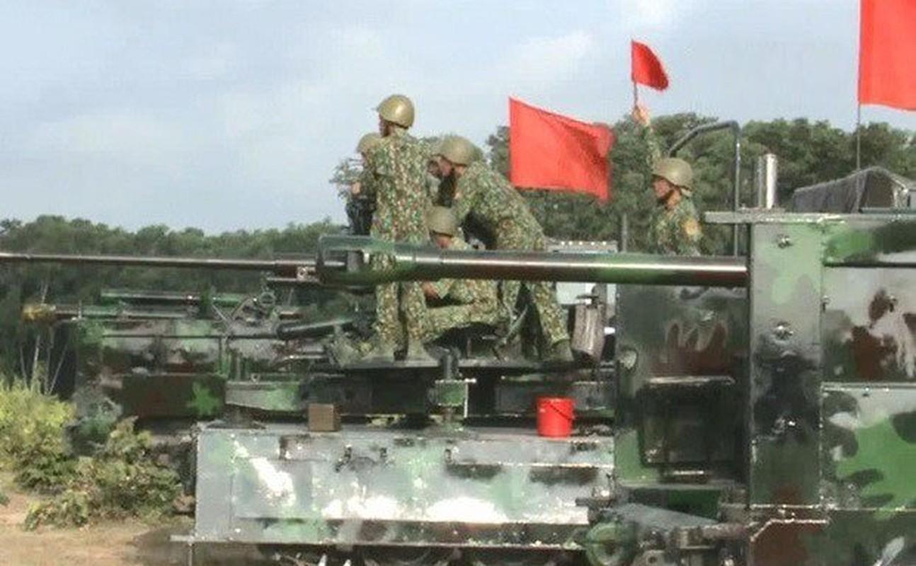 Phao tu hanh banh lop PTH85-VN18 Viet Nam tu che tao lan dau lo dien-Hinh-8