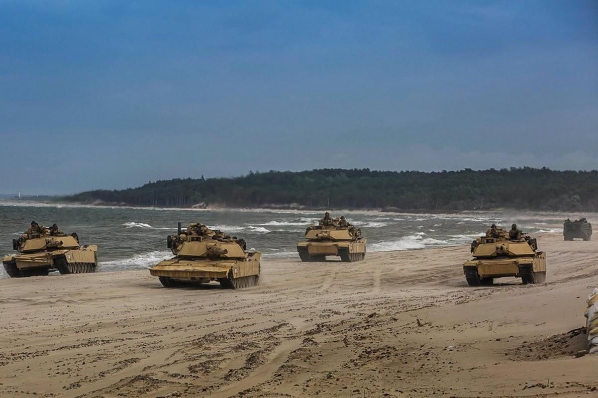 Su that vu xe tang M1 Abrams My ban lan nhau: Loi ngo ngan?