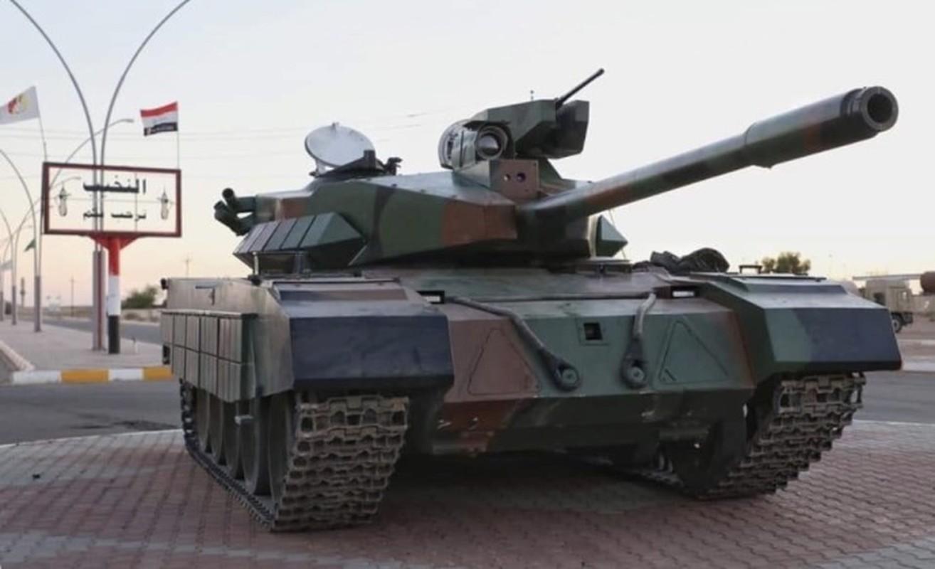 Xe tang Al Kafil-1 cua Iraq duoc Trung Quoc giup nang cap co gi hay?