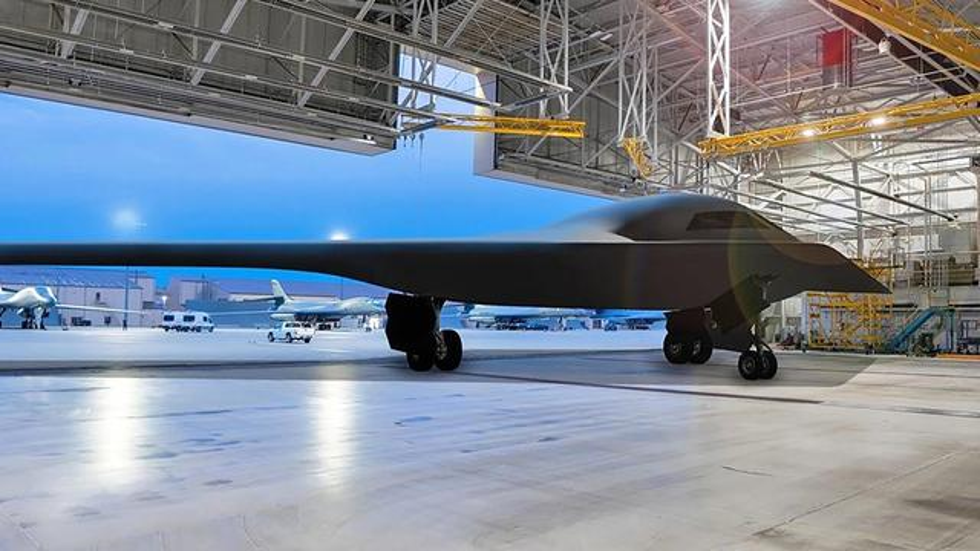 Khong quan My tiet lo bat ngo ve may bay nem bom tang hinh B-21-Hinh-5