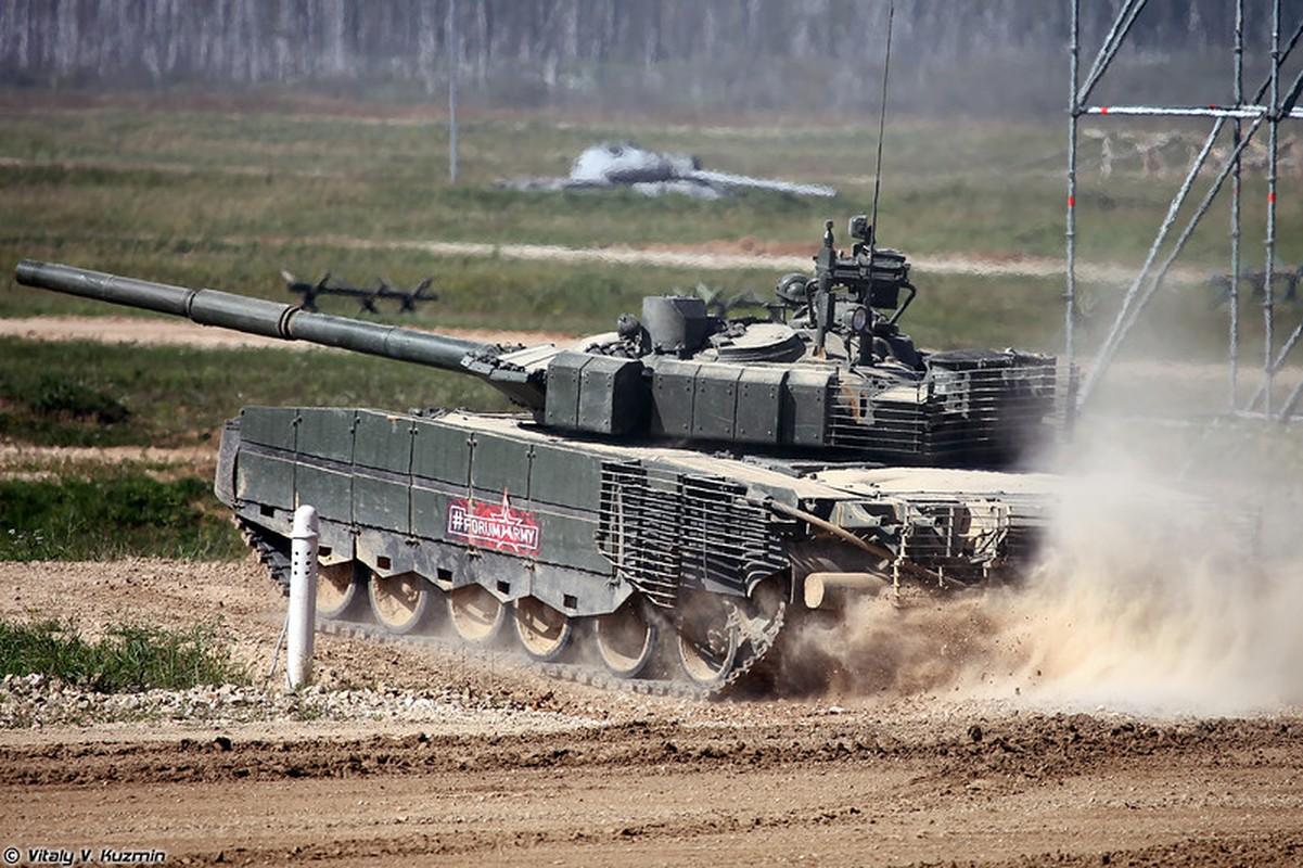 Sieu tang T-80BVM Nga trinh dien ban ten lua, tuong ghe gom hoa ra... truot!-Hinh-12
