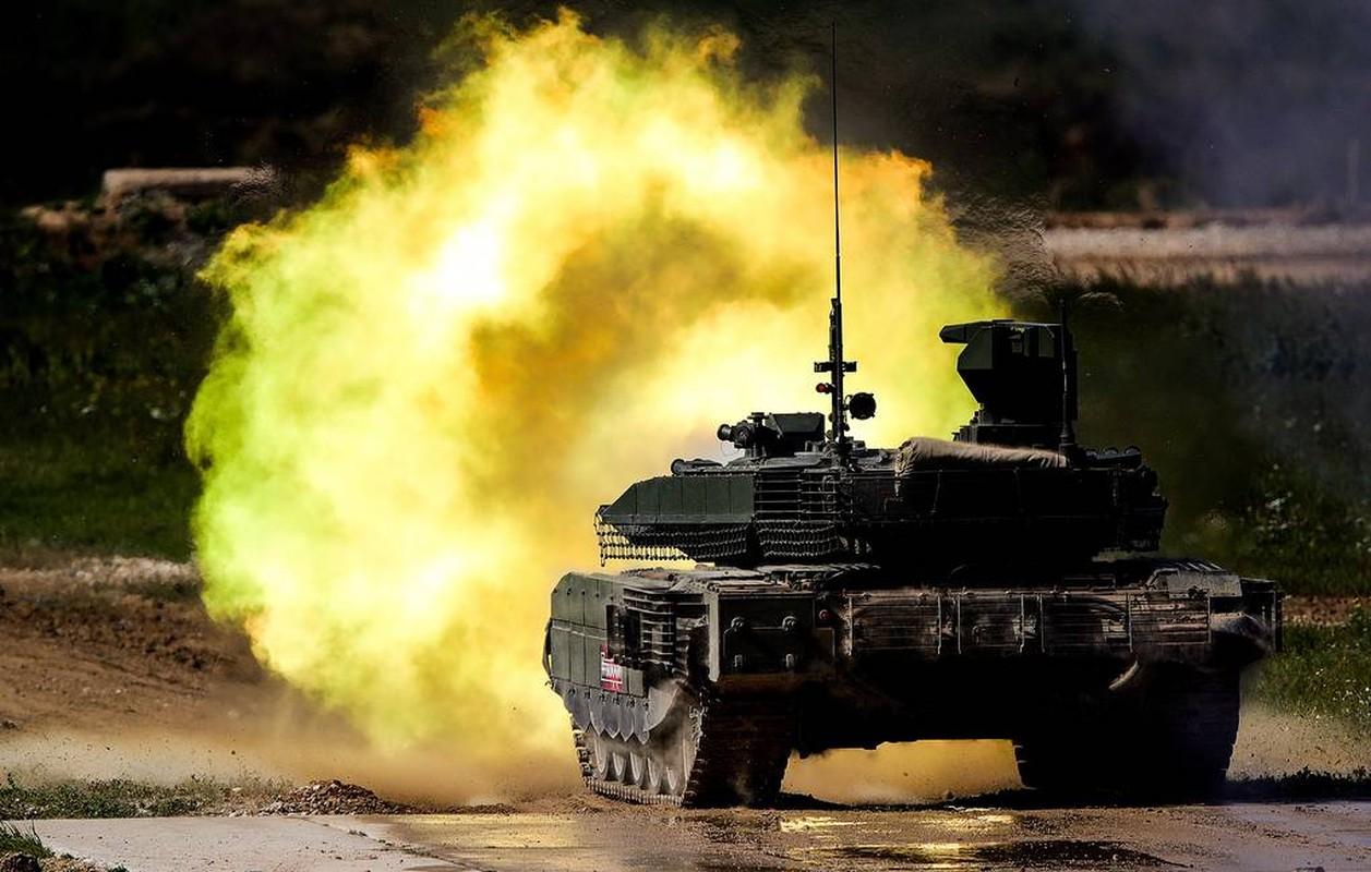 Sieu tang T-80BVM Nga trinh dien ban ten lua, tuong ghe gom hoa ra... truot!-Hinh-4