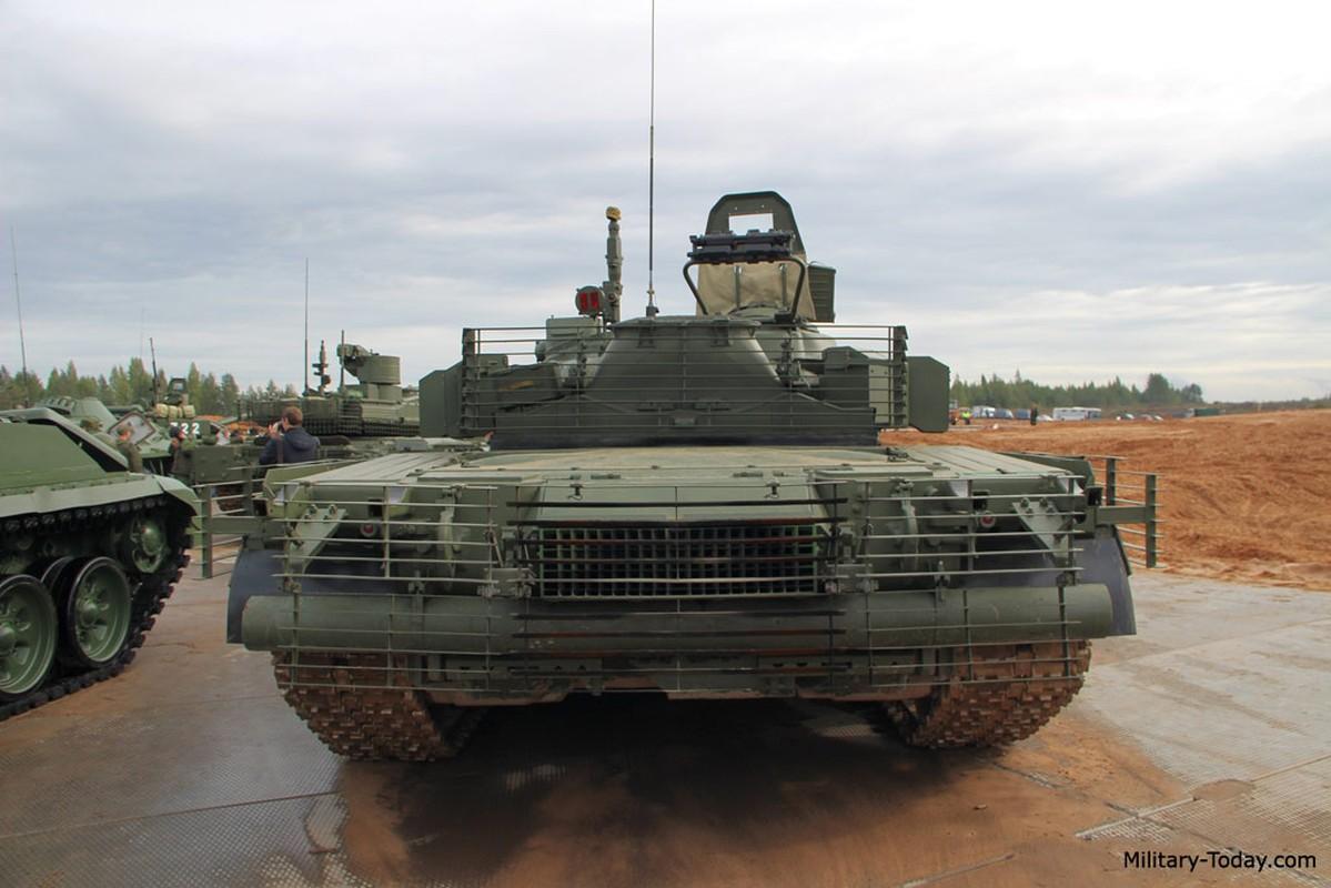 Sieu tang T-80BVM Nga trinh dien ban ten lua, tuong ghe gom hoa ra... truot!-Hinh-7
