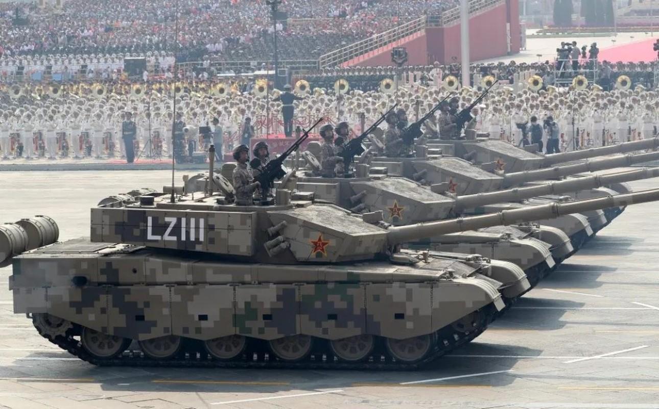 Choang: Luc quan Trung Quoc dung nhieu xe tang bang ca Nga, My cong lai-Hinh-9