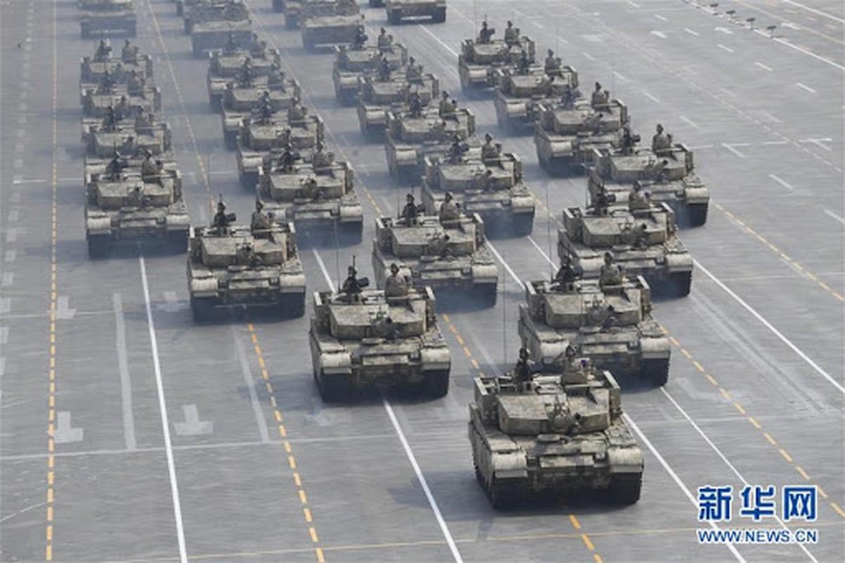 Choang: Luc quan Trung Quoc dung nhieu xe tang bang ca Nga, My cong lai