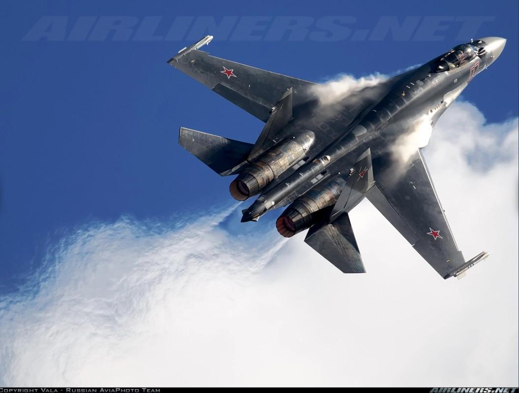 Nghi van gay soc: Tiem kich Su-35S ban nham Su-30SM trong tap tran tai Nga-Hinh-7