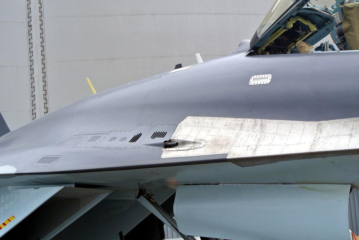 Nghi van gay soc: Tiem kich Su-35S ban nham Su-30SM trong tap tran tai Nga-Hinh-8