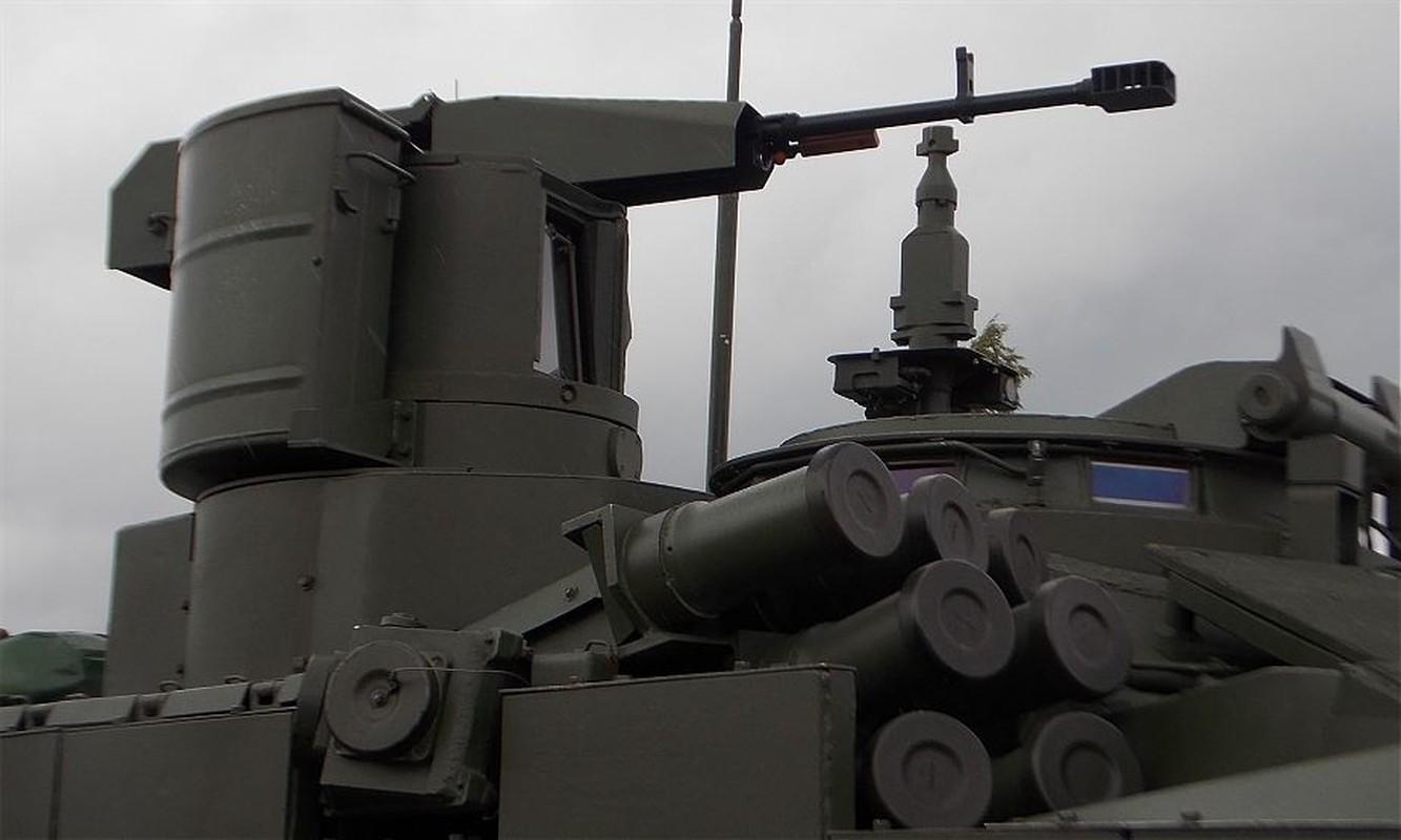 Sung may phong khong 12.7mm tren xe tang chu luc va buoc di lich su-Hinh-10