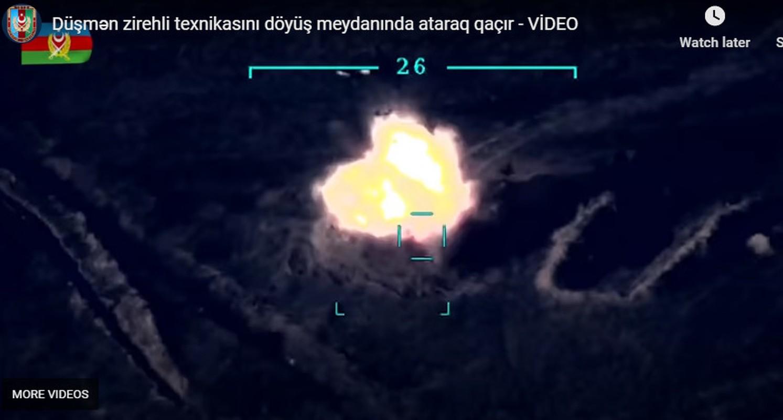 Azerbaijan tung con so soc: Armenia
