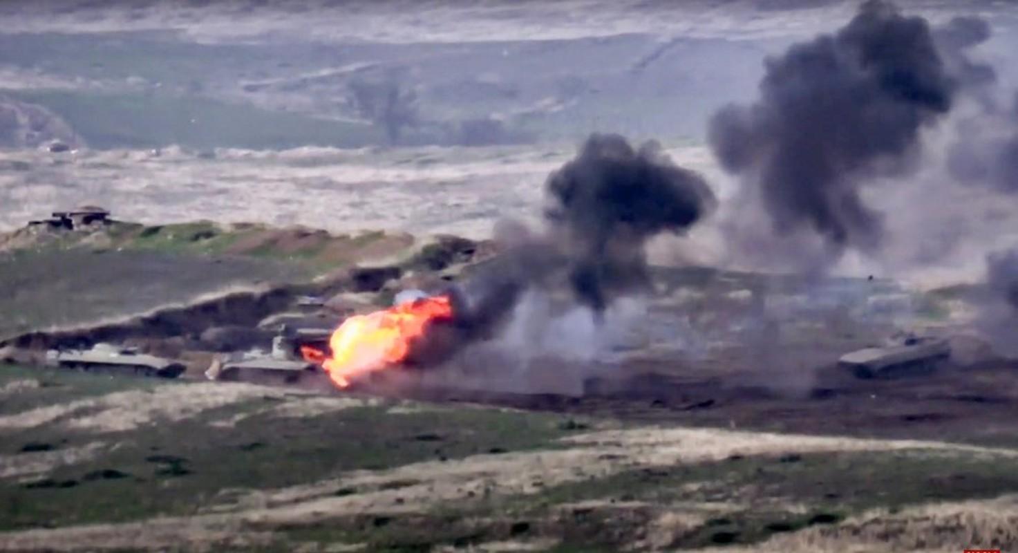 Bien cang: F-16 Tho Nhi Ky ban roi Su-25 Armenia, phi cong chet chay!-Hinh-5