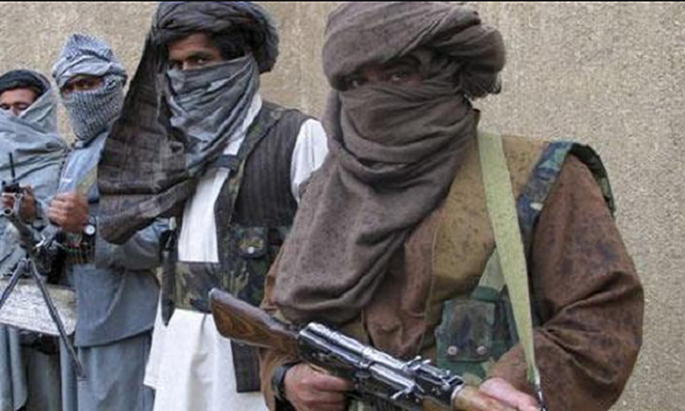 Choang ngop trang bi hien dai nhu quan doi nuoc lon cua phien quan Taliban