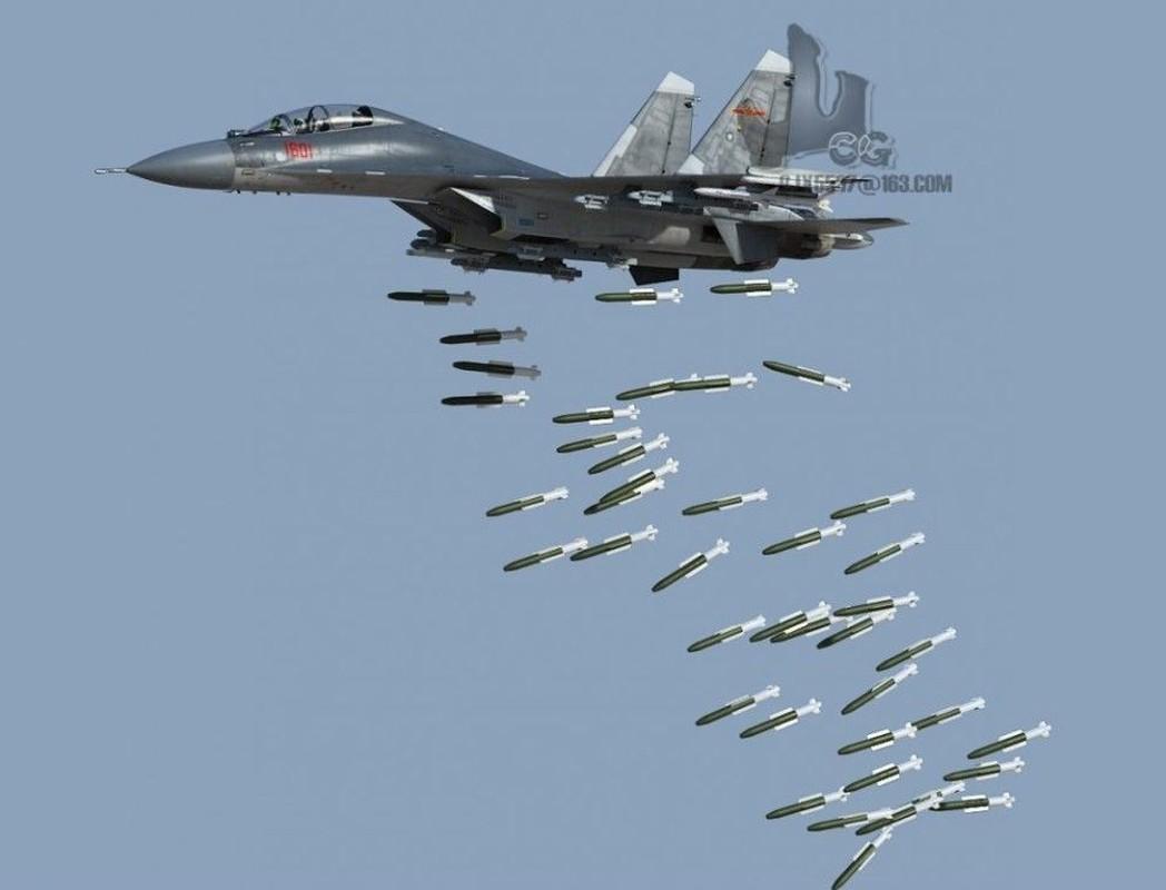 Trung Quoc chi can J-16 de chong lai Su-30 va Rafale cua An Do?-Hinh-7