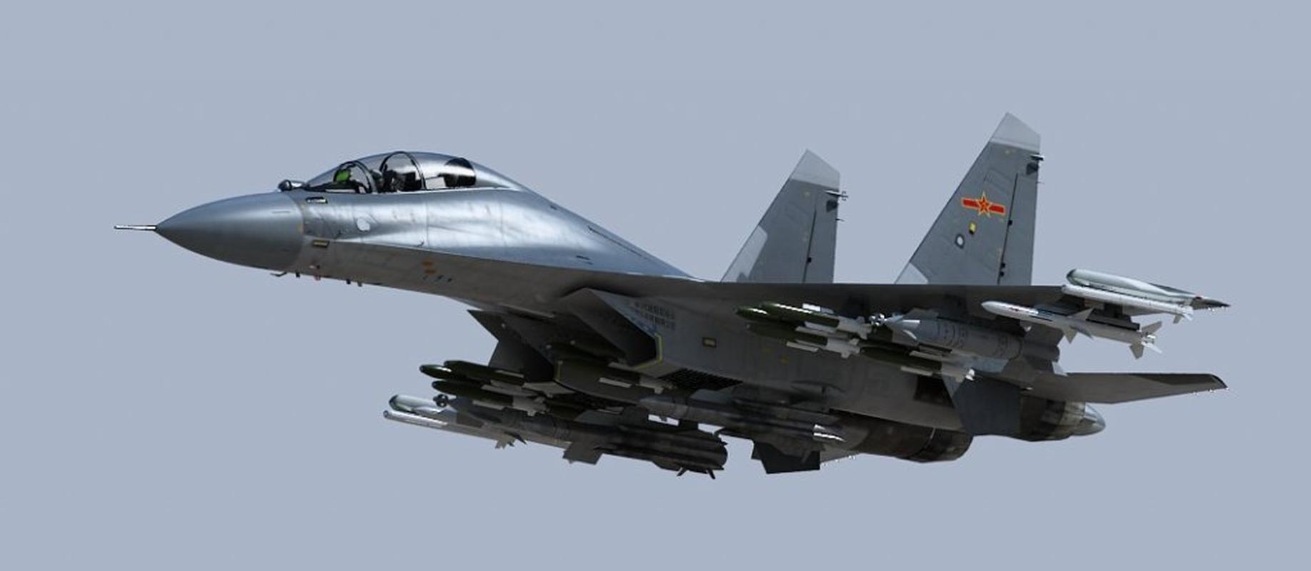 Trung Quoc chi can J-16 de chong lai Su-30 va Rafale cua An Do?-Hinh-8