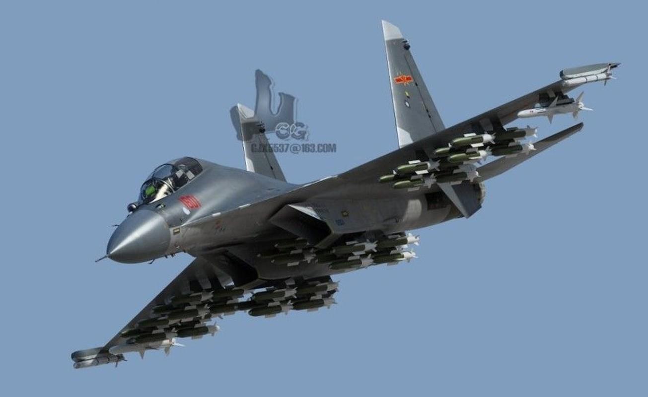 Trung Quoc chi can J-16 de chong lai Su-30 va Rafale cua An Do?-Hinh-9