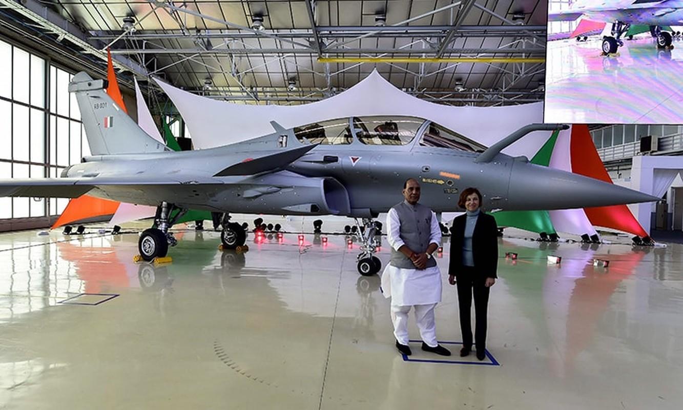 So Rafale An Do, Khong quan Pakistan duoc no sung khong can xin chi thi