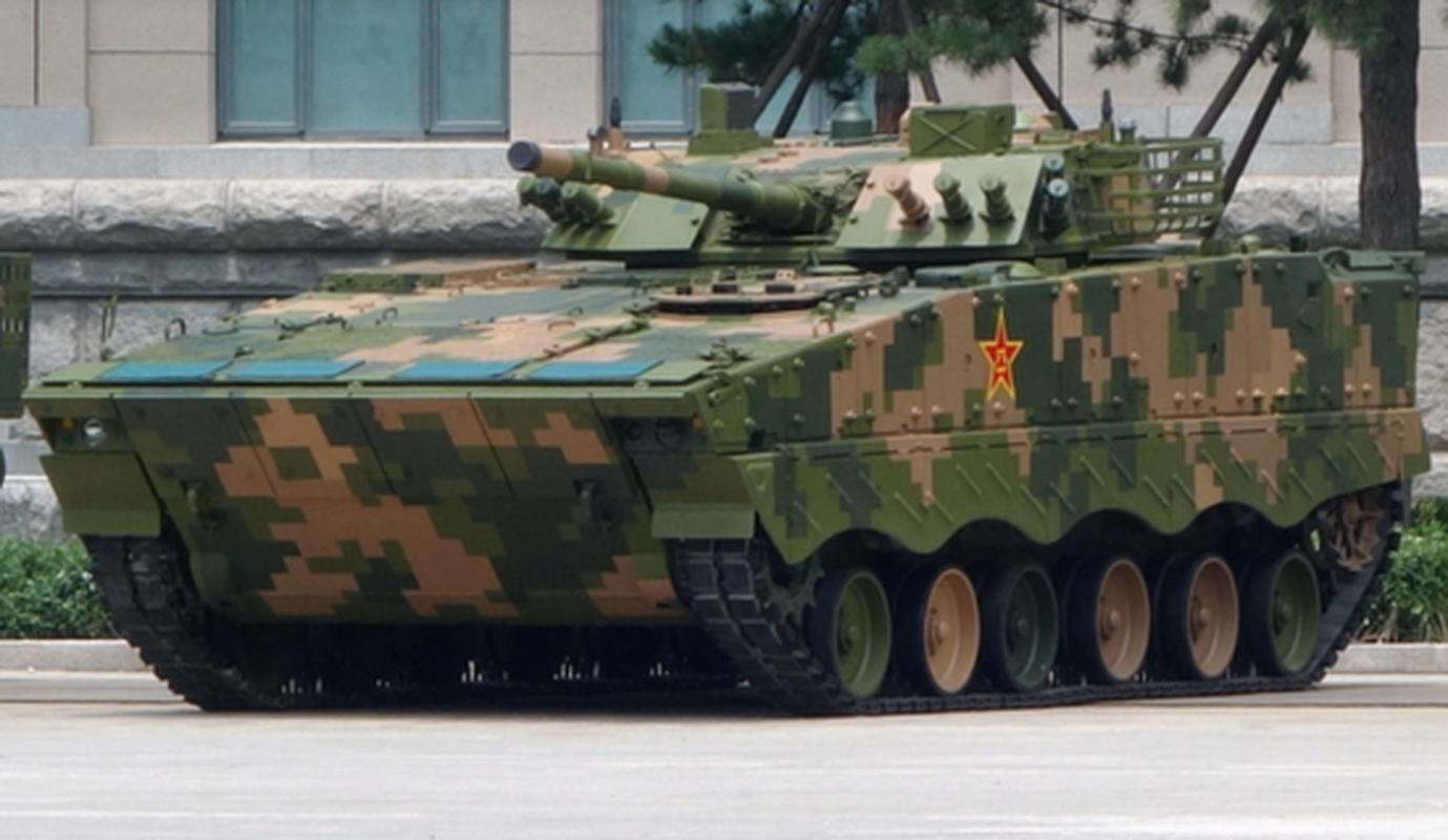 Loai xe tang Trung Quoc lua chon trong mo phong danh chiem Dai Loan-Hinh-5