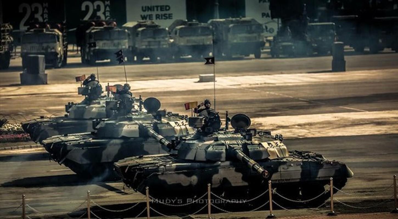 Pakistan co gi de doi dau 1.000 xe tang T-90 cua Quan doi An Do-Hinh-12