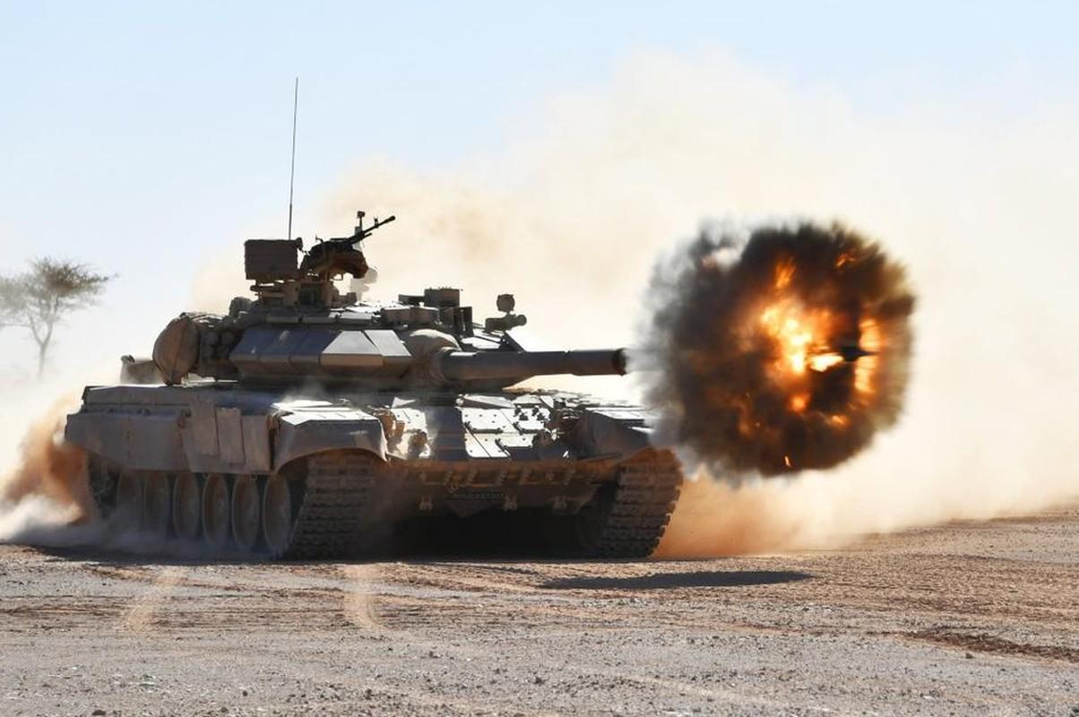 Rung minh canh tuong xe tang T-90SA Algeria