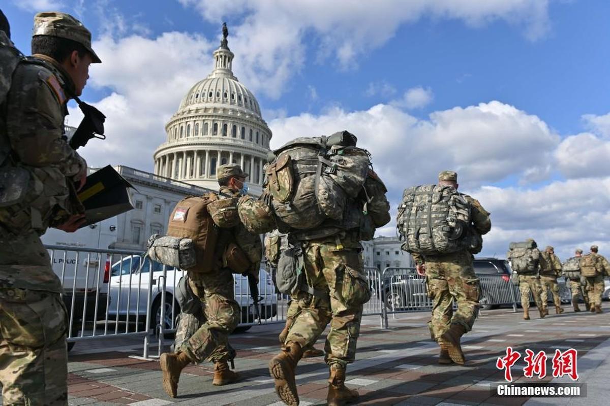 Washington ngap tran linh chien trong ngay nham chuc cua Tong thong Joe Biden