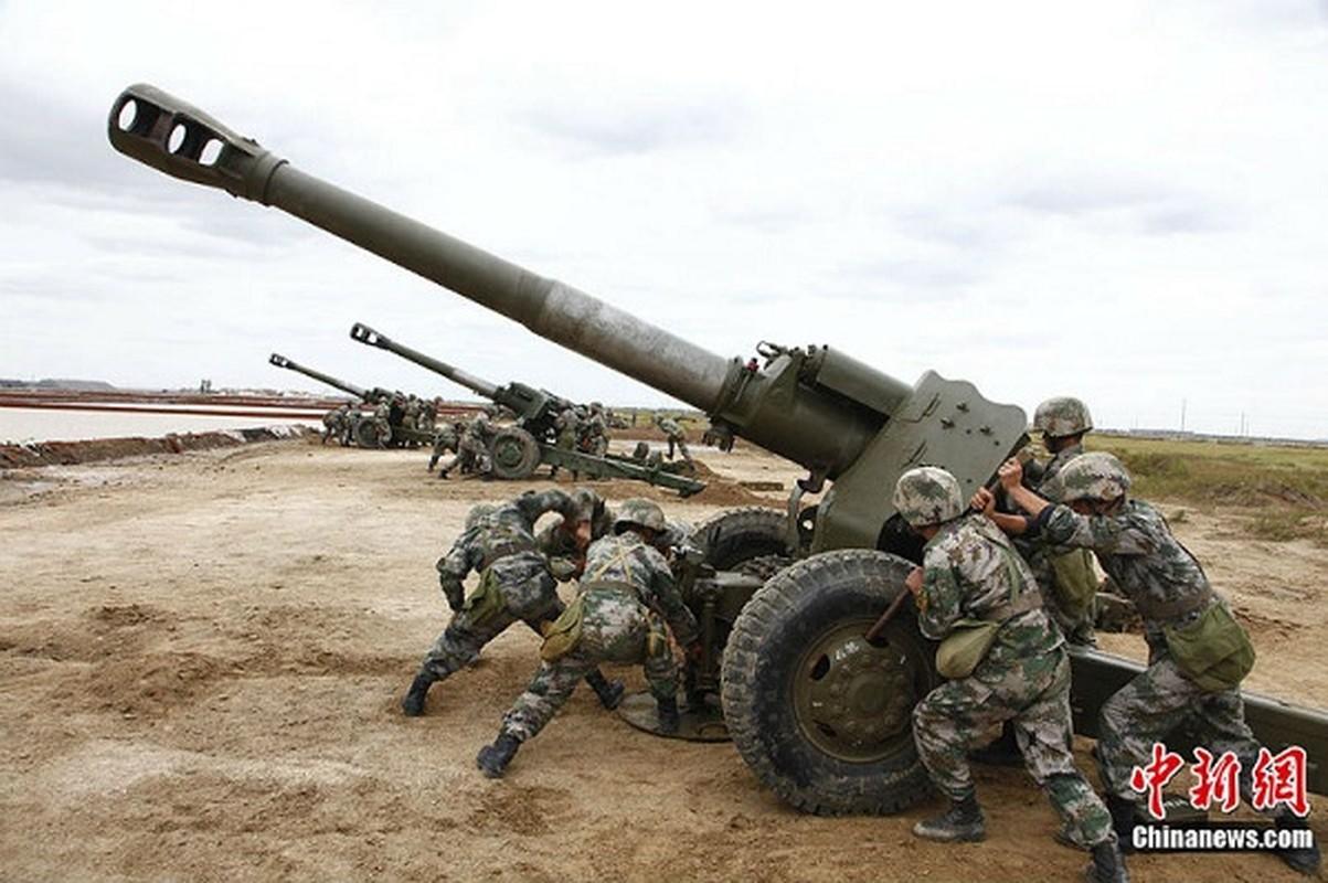 Vi sao Trung Quoc dung ca hai loai dan phao 152 va 155 mm?