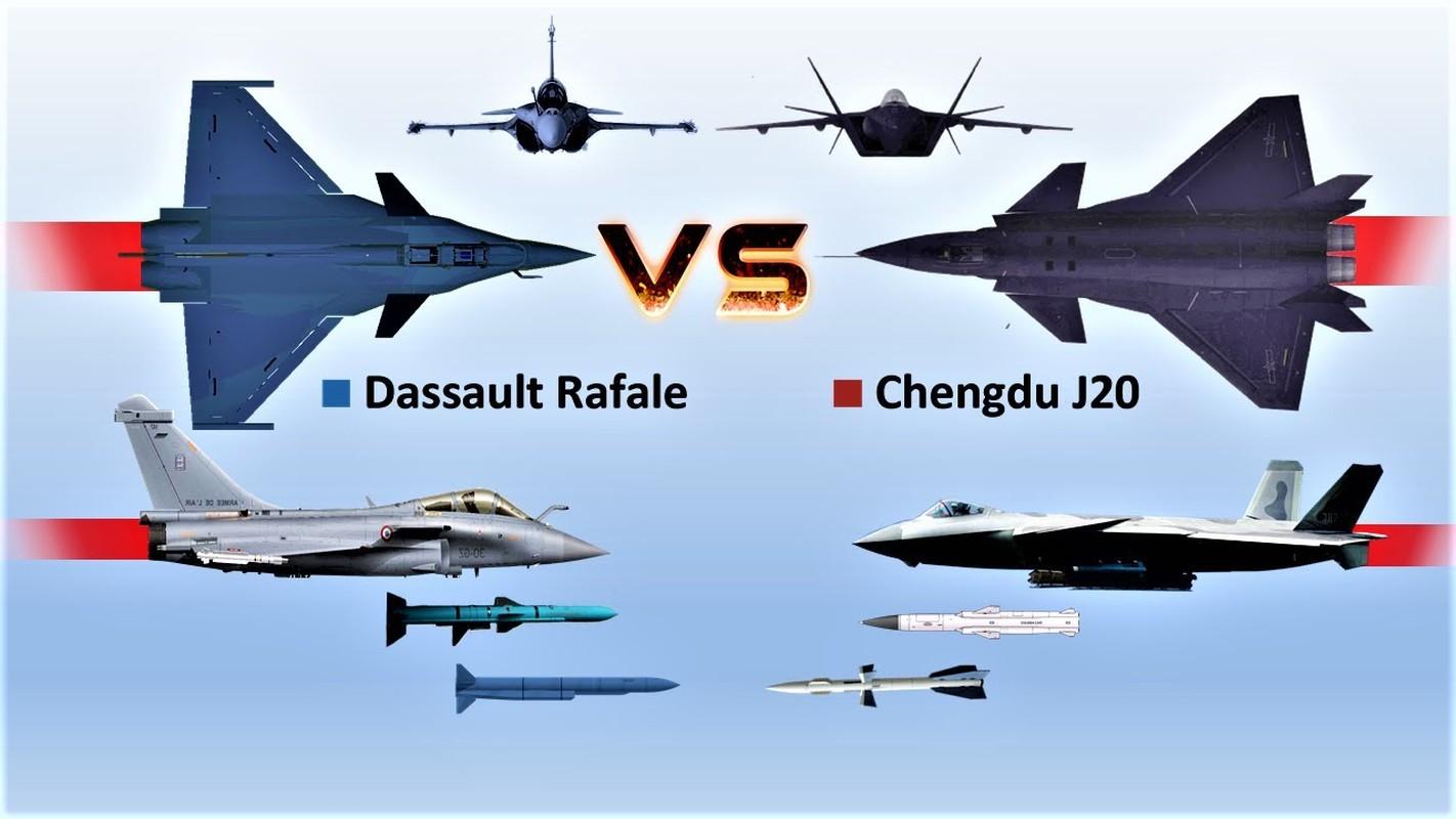Trung Quoc tim cach nang cap J-20 de doi dau Rafale cua An Do